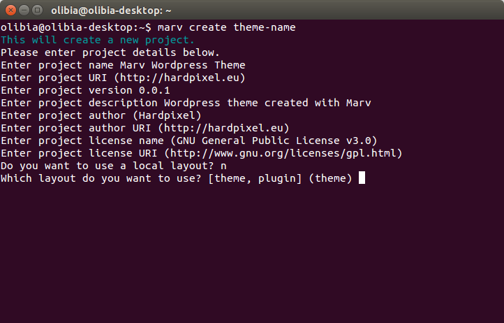 marv-theme-plugin-creation